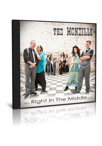 Right In The Middle CD